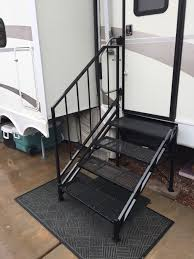 100 Truck Camper Steps HCCR RV Products Decks And Stairs Home Page