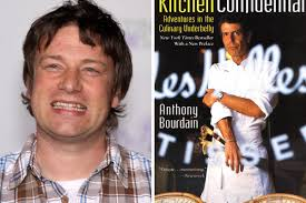 Jamie Oliver Burned His Copy of Kitchen Confidential Eater