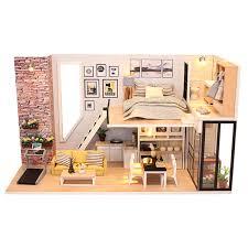 Dollhouse Miniature Noahs Ark Kit With Animals By Phoenix Models