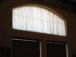Curved Curtain Rod For Arched Window Treatments by Coffee Tables Half Moon Window Treatment Ideas Curtain Rods Bed