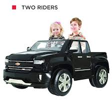 100 Ride On Trucks For Toddlers Amazoncom Rollplay W461P 12V Chevy Silverado Truck Toy