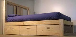 how to build a platform beds easy build diy platform bed designs