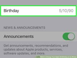 How to Change Your Apple ID Birthday on an iPhone 15 Steps