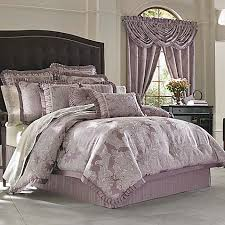 J Queen Celeste Curtains by J Queen New York Regina Comforter Set In Violet Bed Bath U0026 Beyond