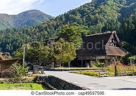 Traditional Japanese Old Shirakawa Village