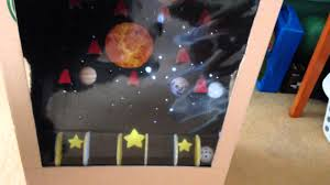 Jsons Cardboard Arcade Game
