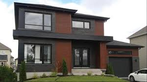 100 Contemporary House Siding Modern Two Story House With Different Facade Cladding Design