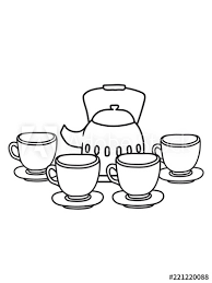 freunde kuchen servieren glas tasse kanne kaffee