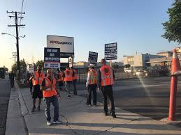 100 Metropolitan Trucking Driver Strike Planned For California Port Truckers Drivers