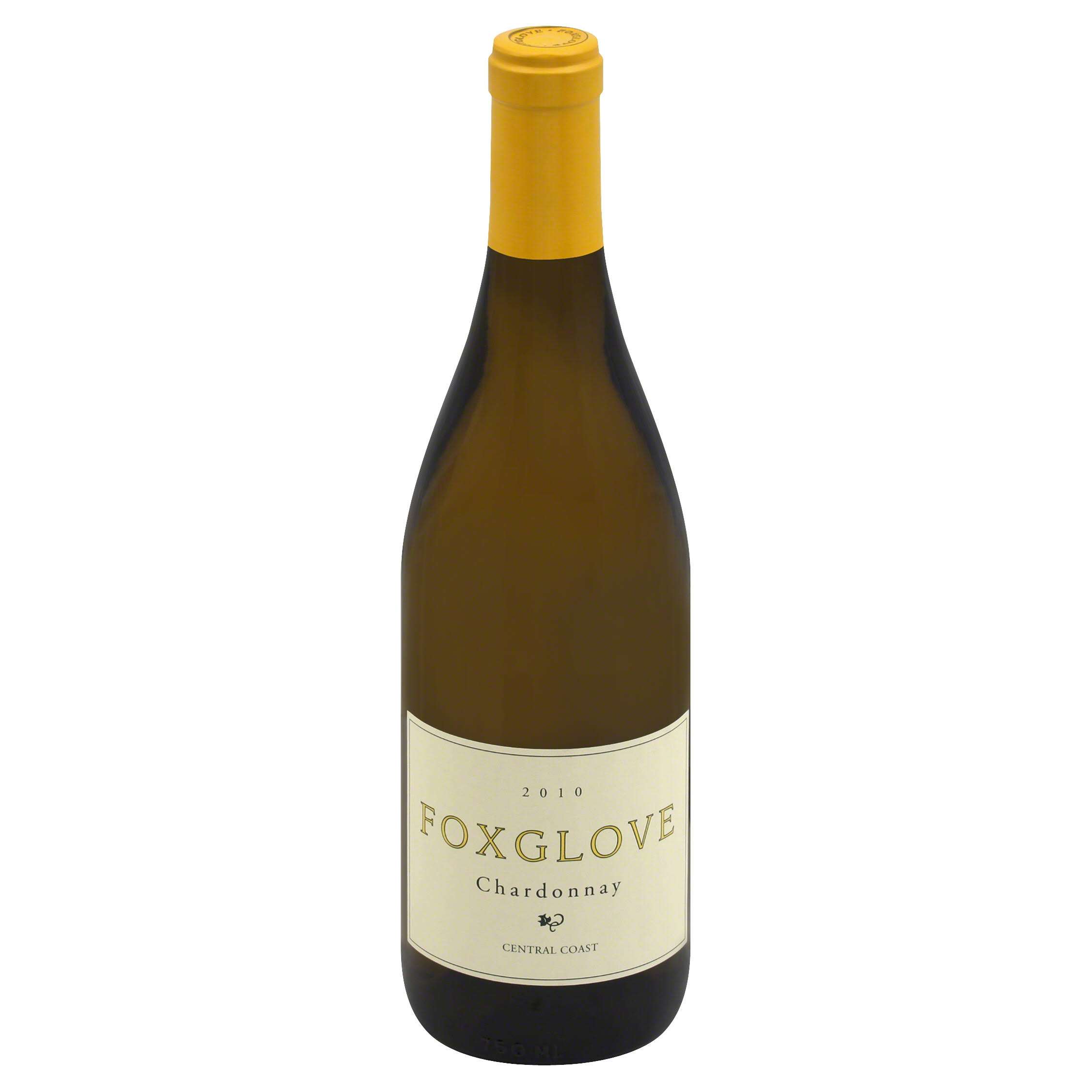 Foxglove Chardonnay, Central Coast, 2010 - 750 ml