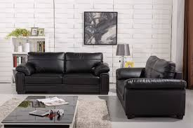 Black Leather Couch Living Room Ideas by Genuine Leather Sofa Sets Reconstituted Genuine Leather Sofa