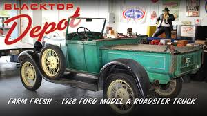 FARM FRESH 1928 Ford Model A Roadster Pickup - YouTube 1928 Ford Roadster Pickup Big Price Reduction 39900 Cjs Model A V8 Scottsdale Auction For Sale Hrodhotline Hot Rod Gaa Classic Cars 1984 Beam Truck Decanter Awesome Vintage Truck Sale Classiccarscom Cc1122995 This And 1930 Town Sedan Have Barn Find The Crowds Loved This Flickr By B Terry Restoration Auto Mall