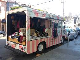 A Mobile Boutique With A Chic Flowery Exterior. Complete From ...