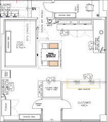 Heres The Proposed Layout Of New Store