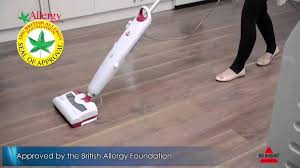 Bissell Hardwood Floor Cleaners by Bissell 42a8e Steam U0026 Sweep Hard Floor Youtube