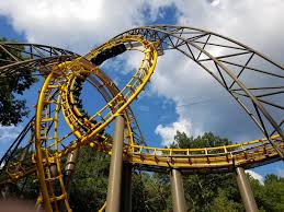 Got to ride this beauty today Loch Ness Monster Busch Gardens