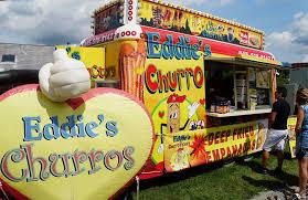 100 Eddies Pizza Truck Food Harvest Festival
