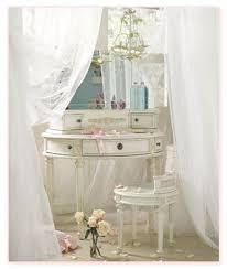 White Bedroom Vanity Set by Think Global Print Local