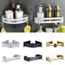 details zu badezimmer bad dusche ecke regal caddy rack halter korb wandmontage aufbewahrung