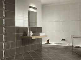 simple zen bathroom theme floating wood sink cabinet modern