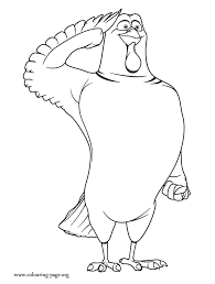 Jake The President Of Turkeys Liberation Front Coloring Page