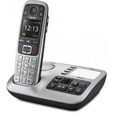 téléphone fixe sans fil e560 a argent téléphone sans fil fnac