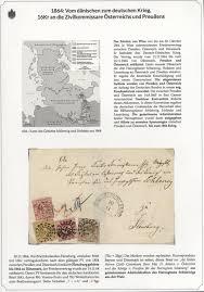 Philatelic Exhibit ITALY 18611875 LETTERS TO AUSTRIA GERMANY AND