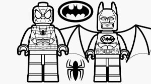 Coloriage Lego Batman Vs Superman