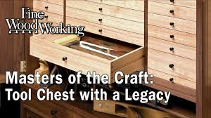 motc tool chest with an arts u0026 crafts legacy finewoodworking
