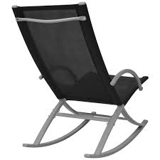 2 PCS OUTDOOR Garden Patio Rocking Chairs Sun Lounger ...