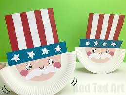 Paper Plate Uncle Sam Craft For Preschool This Rocks No Really