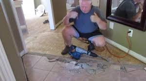 removing ceramic tiles the easy way