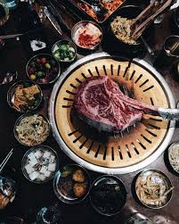 Tomahawk Steak? 4 Must-Try Unique Dishes At Hanjip Korean BBQ ... Roy Chois Favorite La Food Trucks Tomahawk Steak 4 Musttry Unique Dishes At Hanjip Korean Bbq Los Angeles Food Truck Gal Best In Kogi Wikipedia Miracle Mile Mobile Eats 19 Essential Winter 2016 Eater Utah Countys First Restaurant Drives Diners To Another Tip Jar On A Out About In Kuala Lumpur Tapak Truck Park Is The Taco Cbs Belly Bombz Roaming Hunger