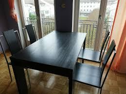 4 stühle für esszimmer wohnzimmer neuwertig anthrazit