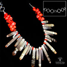 100 Eclectically Maui Inspired Sea Urchin Necklace Simple LLC