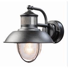 lights heath zenith sl outdoor wall mount motion sensor light