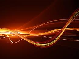 Fire fractal background