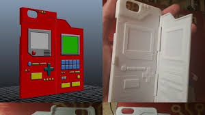 The 3D Printed Pokédex iPhone Case You Don t Need But Must Have