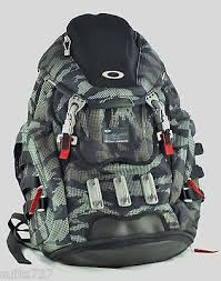 kitchen sink backpack digital camo computer bag new carry on