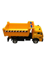 100 Orange Truck Shop Shing Gat LTD Pull Back Construction Diecast 95314D 45