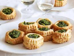 puff pastry canape ideas cheese and spinach puff pastry pockets recipe giada de laurentiis