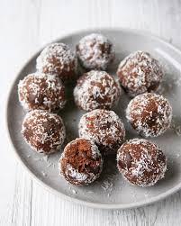 Choc Protein Cookie Dough Balls
