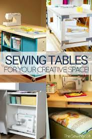 Sewing Cabinet Woodworking Plans by Best 10 Sewing Tables Ideas On Pinterest Ikea Sewing Rooms