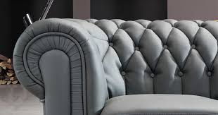 canape capitonn gris deco in grand canape d angle capitonne gris chesterfield can