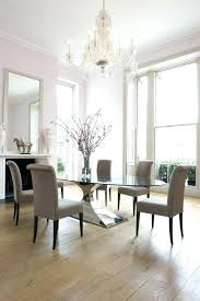 Glass Table Dining Set Fabulous Round White Design High Definition Wallpaper Photographs And Chairs For Sale