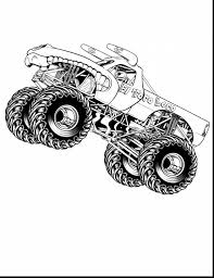 100 Coloring Pages Of Trucks Free Monster Jam Fresh Gallery Grave Digger