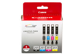CLI 251 4 Color Ink Pack