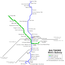 UrbanRail Net North America USA Maryland Baltimore Metro