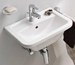 vitra plus handwaschbecken eckig mit vitra clean 450 x 350 mm weiss