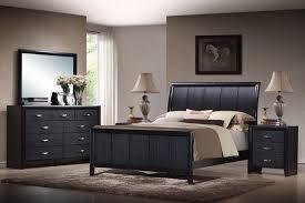 kima black king 5 wooden modern bedroom set modernes